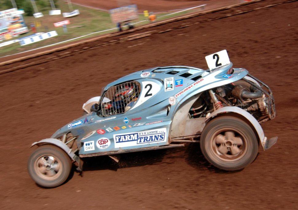 Jaroslav Hošek na výstavě Racing Expo