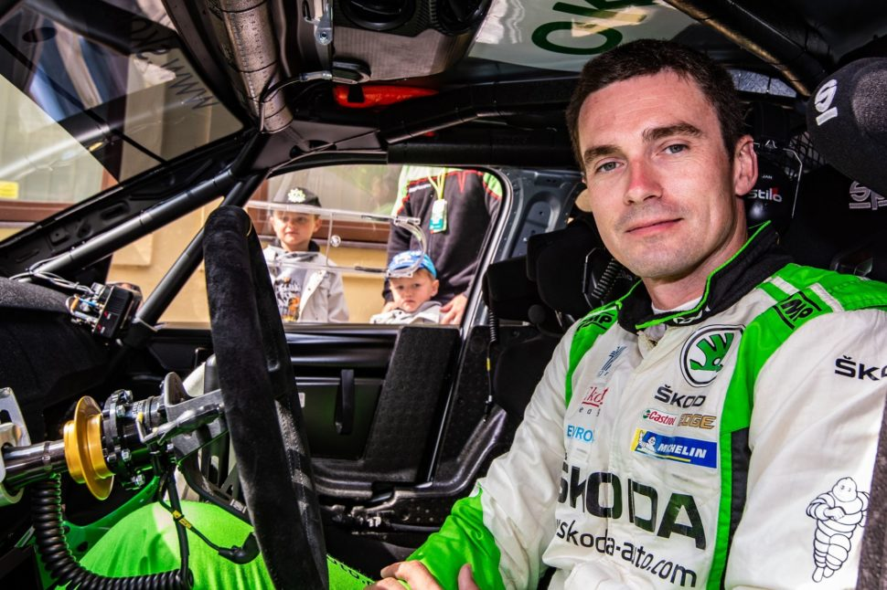 Jan Kopecký a tovární tým Škoda Motorsport se zúčastní výstavy Racing Expo