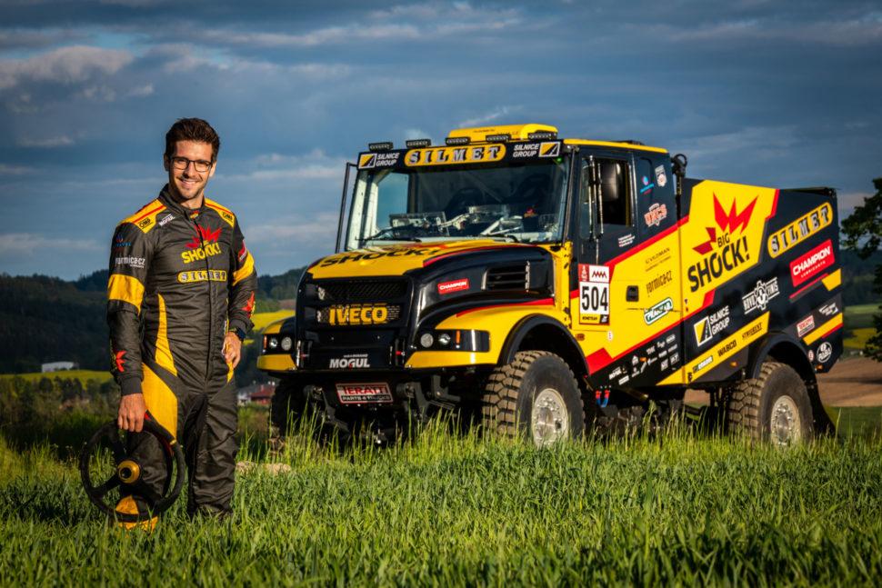 Martin Macík na výstavě Racing Expo