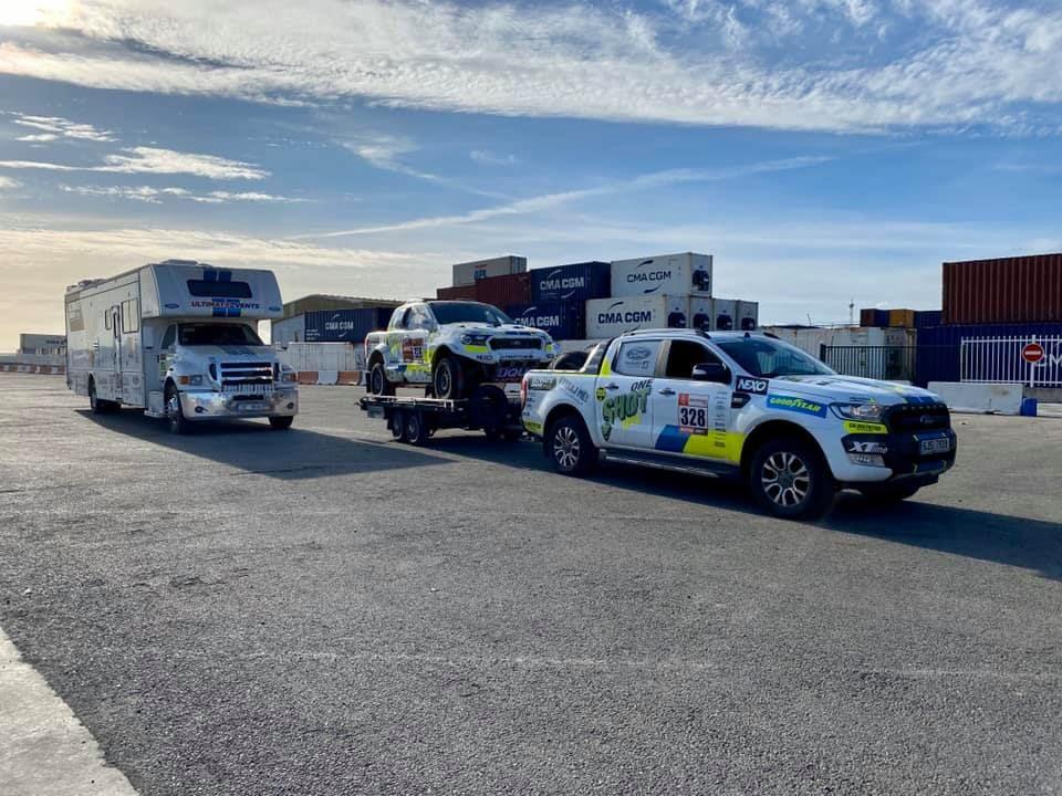 Auta zRallye Dakar jsou už doma
